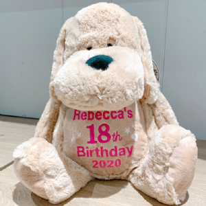 Personalised Birthday Dog Teddy